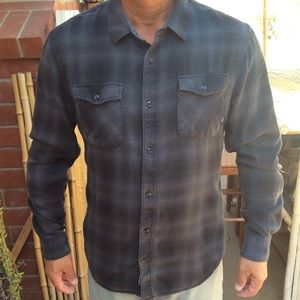 Vans Classic Long Sleeve Button Down Shirt Size XL